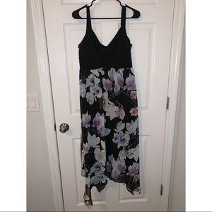 Sami & Jo Long Floral Event Dress
